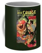 Doc Savage He Could Stop The World Coffee Mug