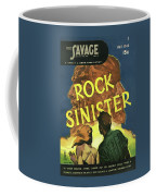 Doc Savage Rock Sinister Coffee Mug