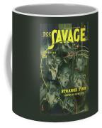 Doc Savage Strange Fish Coffee Mug
