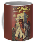 Doc Savage The Man Of Bronze Coffee Mug