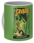 Doc Savage The Time Terror Coffee Mug