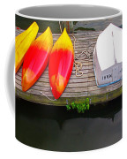 Dock And Boats Coffee Mug