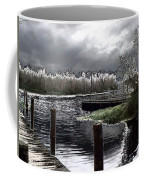 Dock At Dusk Coffee Mug