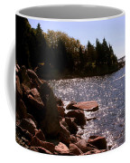 dock at Mount Hope Farm Bristol Rhode Island Coffee Mug