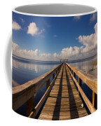 Dock On The Lake Coffee Mug
