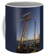 Docked Tall Ship Coffee Mug