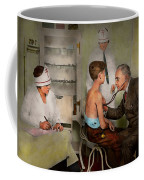 Doctor - At The Pediatricians Office 1925 Coffee Mug