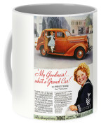 Dodge Automobile Ad, 1936 Coffee Mug by Granger