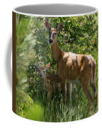 Doe And Fawn Coffee Mug