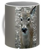 Doe Eyed Deer Talk Coffee Mug