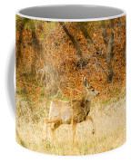 Doe High Stepping On Bald Mountain Coffee Mug