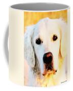 Dog Art - Golden Moments Coffee Mug