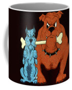 Dog Fight Stand Off Coffee Mug
