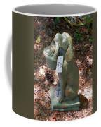 Dog Garden Statues Coffee Mug