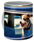 Dog In Car Coffee Mug