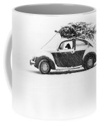 Dog In Car  Coffee Mug