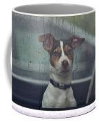 Dog Looking Out Car Window Coffee Mug