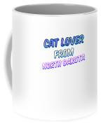Dog Lover From North Dakota Coffee Mug