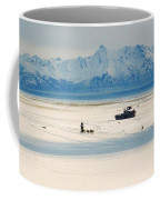 Dog Musher At Cook Inlet - Alaska Coffee Mug