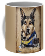 Dog Traditional Drawing Coffee Mug