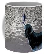 Dog Vs Perch 3 Coffee Mug