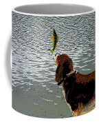 Dog Vs Perch 4 Coffee Mug