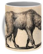 Dog With Rabies, Engraving, 1800 Coffee Mug