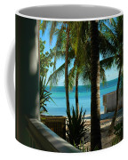 Dog's Beach Key West Fl Coffee Mug