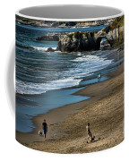 Dogs Beach Santa Cruz California Nature  Coffee Mug