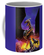 dogs of the future Keith Parkinson Coffee Mug