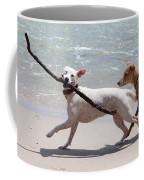 Dogs On The Beach Coffee Mug