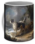 Dogs On The Coast Coffee Mug