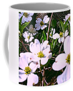 Dogwood Blossoms Pair Up Coffee Mug