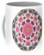 Dogwood Energy Mandala Coffee Mug by Beth Sawickie