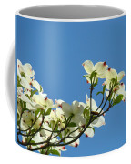Dogwood Flowers Art Prints White Flowering Dogwood Tree Baslee Troutman Coffee Mug