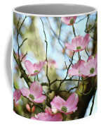 Dogwood Flowers Pink Dogwood Tree Landscape 9 Giclee Art Prints Baslee Troutman Coffee Mug