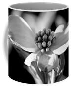 Dogwood In Black And White Coffee Mug
