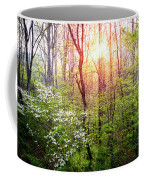 Dogwoods In The Forest Coffee Mug