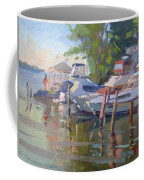 Docks At The Shores  Coffee Mug