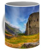 Dolbadarn Castle  Coffee Mug by Adrian Evans