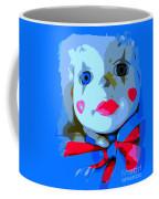 Doll In Blue Coffee Mug