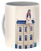 Dolly And Her House Coffee Mug