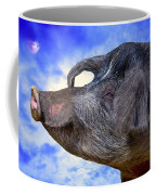 Dolly Under The Smiling Moon Coffee Mug