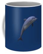 Dolphin In Ocean Blue Coffee Mug
