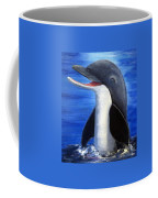 Dolphin Laughing Coffee Mug