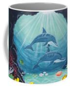 Dolphin Play Coffee Mug