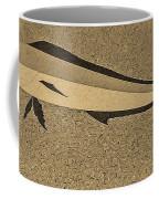 Dolphinfish In Sepia Tones Coffee Mug