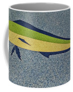 Dolphinfish Inlay On Alabama Welcome Center Floor Coffee Mug