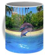 Dolphins Dance Coffee Mug