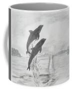 Dolphins Of The Sea Coffee Mug